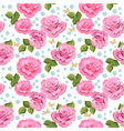 rose seamless3 vector image