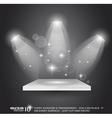 magic spotlights vector image vector image