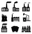 Factories vector image