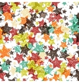 background decorated with texture stars vector image