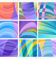 background modern abstract design set vector image