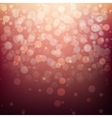 Festive blurred background with bokeh vector image
