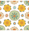 Seamless floral pattern summer ornament vector image