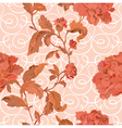 Elegance Seamless pattern with flowers roses vector image