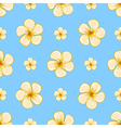 Floral tropical seamless pattern vector image vector image