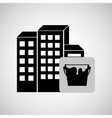 construction reapir building painting icon design vector image