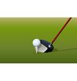 Golf Driver Club vector image