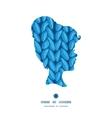 knit sewater fabric horizontal texture girl vector image