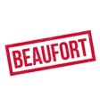Beaufort rubber stamp vector image
