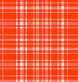 Red plaid pattern backgroun vector image