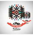 colorful tribal navajo style ornamental vector image