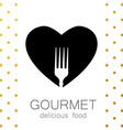 gourmet delicious food vector image