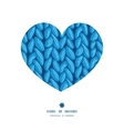 knit sewater fabric horizontal texture heart vector image