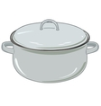 new pan for kitchen vector image