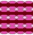 Seamless ornament Pink color vector image