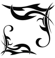 Tribal element on a white background vector image