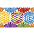 Flower of Life abstract background for your vector image