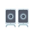 Computer Speakers vector image