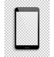 tablet mockup template transparent background vector image