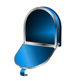 Open Mailbox vector image vector image