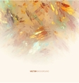 Abstract Background brush strokes vector image