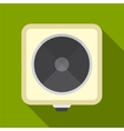 Electric cooker flat icon vector image