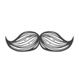 Moustache Icon vector image