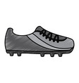 shoe soccer icon equipment sport vector image
