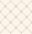 geometric pattern with smal ldiamond shapes vector image