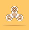 hand spinner fidget vector image