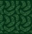 Palm leaf pattern vector image