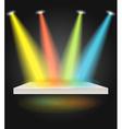 Bright scene vector image