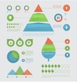 Eco infographic elements vector image