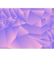 low poly style graphic background vector image