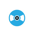 vinyl colorful icon symbol premium quality vector image