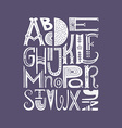 Alphabet Poster vector image