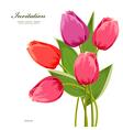 tulip2 vector image