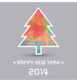 Happy new year 2014 card28 vector image