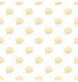 glossy speech bubble pattern vector image