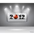 2012 gallery vector image