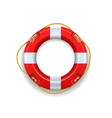 Ship lifebuoy vector image