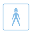 Sex dummy icon vector image