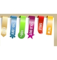 different paper tags vector image