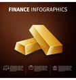 finance infographics vector image