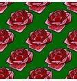 Floral seamless background for design vector image