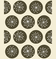 floral seanless pattern vector image