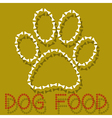 Dog Food vector image vector image
