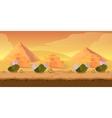 Pyramid Game Background vector image