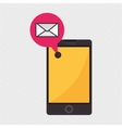 smartphone isolated design vector image