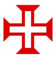 Symbol of Order of Christ vector image